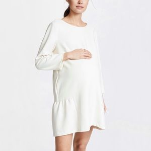 Hatch The Tulip Dress Ivory White Size 1 Maternity